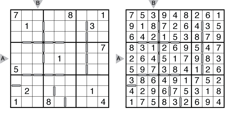 consecutive sudoku r amp i   the art of puzzles the art of
