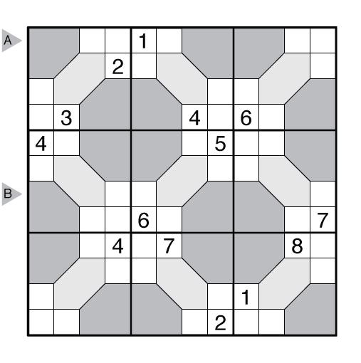 Tile Sudoku by Thomas Snyder