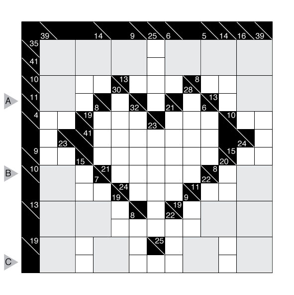 Single minded expert crossword